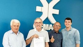 Vereadores em reunião na Cemar