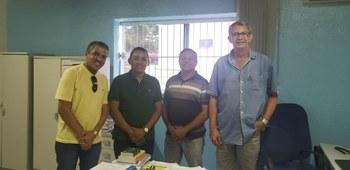Vereadores reúnem-se com supervisor regional do DNIT, em Barão de Grajaú, no dia 05 de julho.