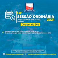 14° Sessão Ordinária (28/06)