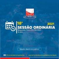 18° Sessão Ordinária (23/08)