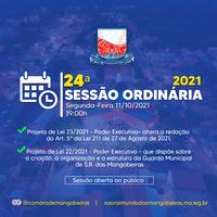 24° Sessão Ordinária (11/10)