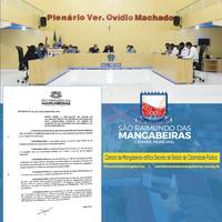 Câmara de Mangabeiras ratifica Decreto de Estado de Calamidade