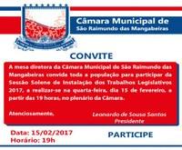 Câmara de São Raimundo das Mangabeiras inicia atividades legislativas nesta quarta-feira (15)