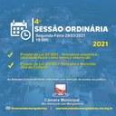 Ordem do Dia - 4° Sessão Ordinária (29/03)