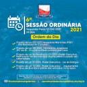 Ordem do Dia- 6° Sessão Ordinária (12/04)