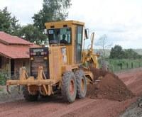 Presidente da Câmara vistoria obras de estradas vicinais