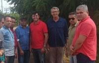 Supervisor do DNIT visita Mangabeiras e analisa possibilidade de instalação de lombadas e faixas de pedestres