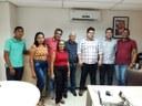 Vereador Júlio da Foto Layser representa a Câmara de Mangabeiras em reunião na Secretaria de Estado do Meio Ambiente