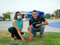 Vereadores de Mangabeiras participam de comemoração do Dia da Árvore