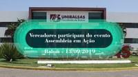 Vereadores de Mangabeiras participam do evento Assembleia em Ação, promovido pela Assembleia Legislativa do MA