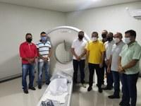 Vereadores de Mangabeiras prestigiam evento de inauguração do Setor de Imagem do Hospital Municipal