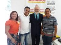Vereadores participam do anúncio do reajuste salarial dos Professores Municipais de Mangabeiras