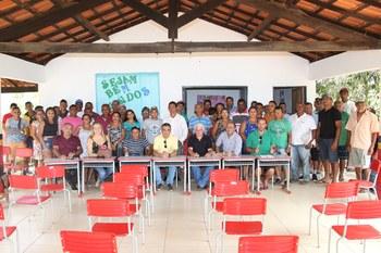 Vereadores realizam reunião com moradores na região do Riacho Riachão para tratar de questões ambientais