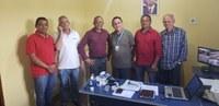 Vereadores reúnem-se com gerente regional da Caema