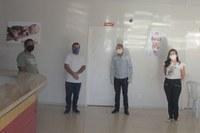 Vereadores vistoriam estrutura do hospital São Raimundo Nonato para enfrentamento do coronavírus